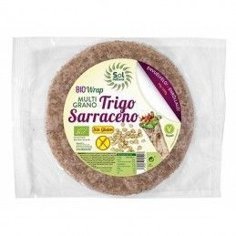 wrap multigrano trigo sarraceno sin gluten sol natural 160 gr bio