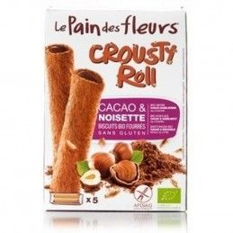 crousty roll cacao pan flores 125 gr bio